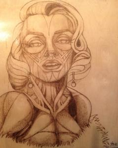 Marilyn in Gold